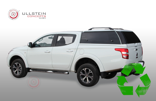 Canopy Fiat Fullback Double Cab Sammitr V4 with glass side doors