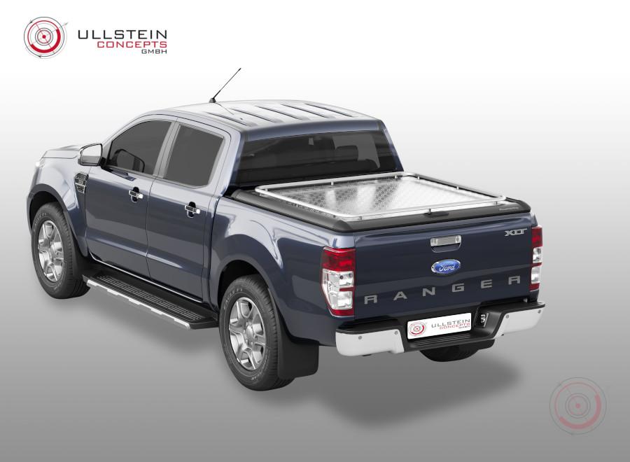 Ford Ranger Tonneau Cover Mountain Top Style Hd Plus Double Cab Xl Xlt Ullstein Concepts Gmbh