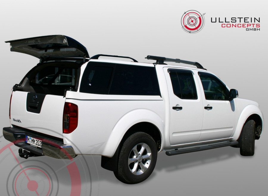 hardtop sammitr v4 schiebefenster nissan navara d40 mit. Black Bedroom Furniture Sets. Home Design Ideas