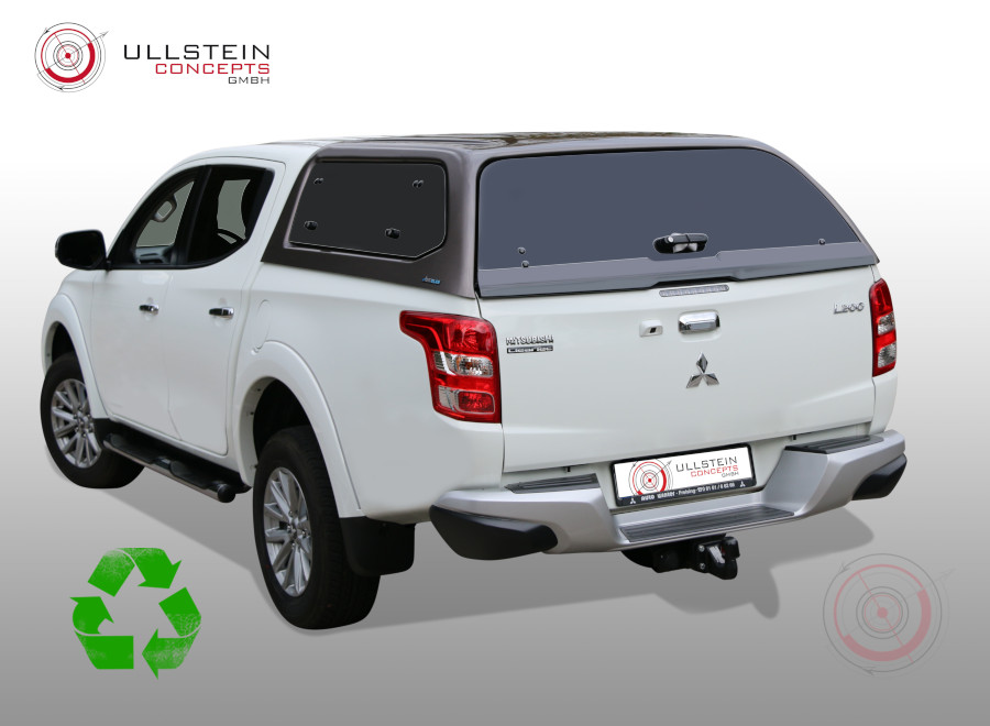 Hardtop Green Top Mitsubishi L200
