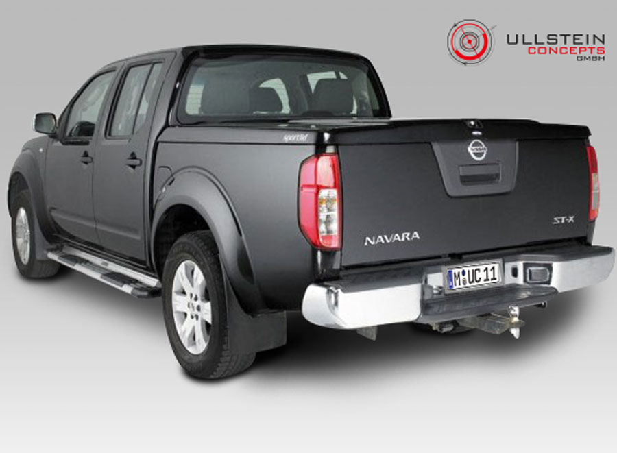 laderaumabdeckung f r nissan navara short bed ullstein concepts. Black Bedroom Furniture Sets. Home Design Ideas