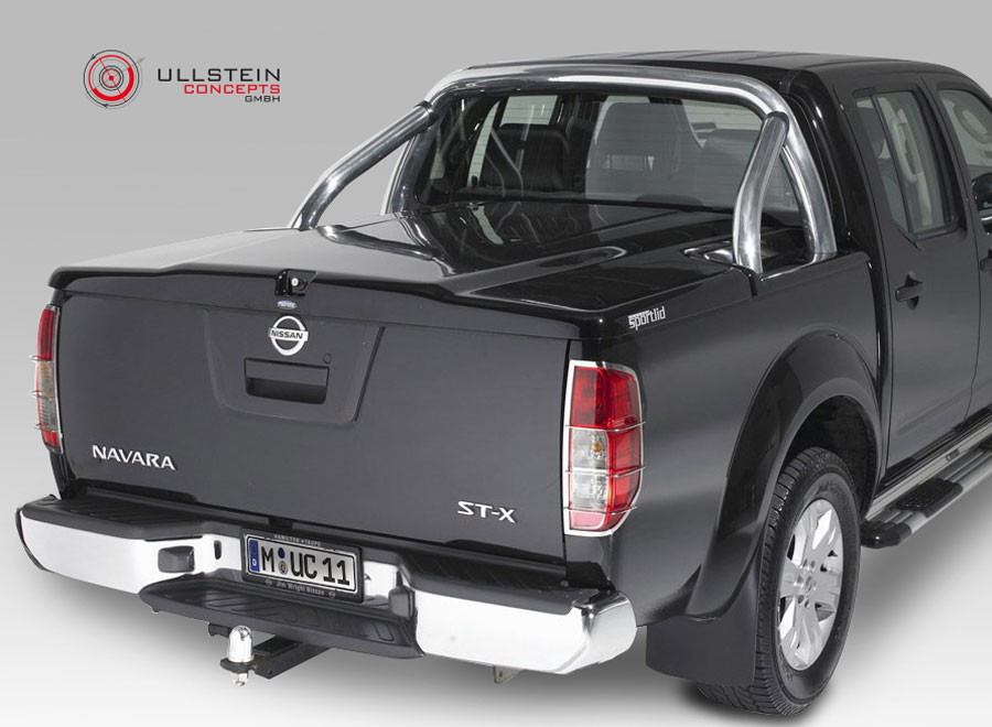 abdeckung inkl berrollb gel f r nissan navara short bed. Black Bedroom Furniture Sets. Home Design Ideas