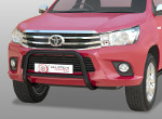 Bull bar with cross tube Toyota Hilux