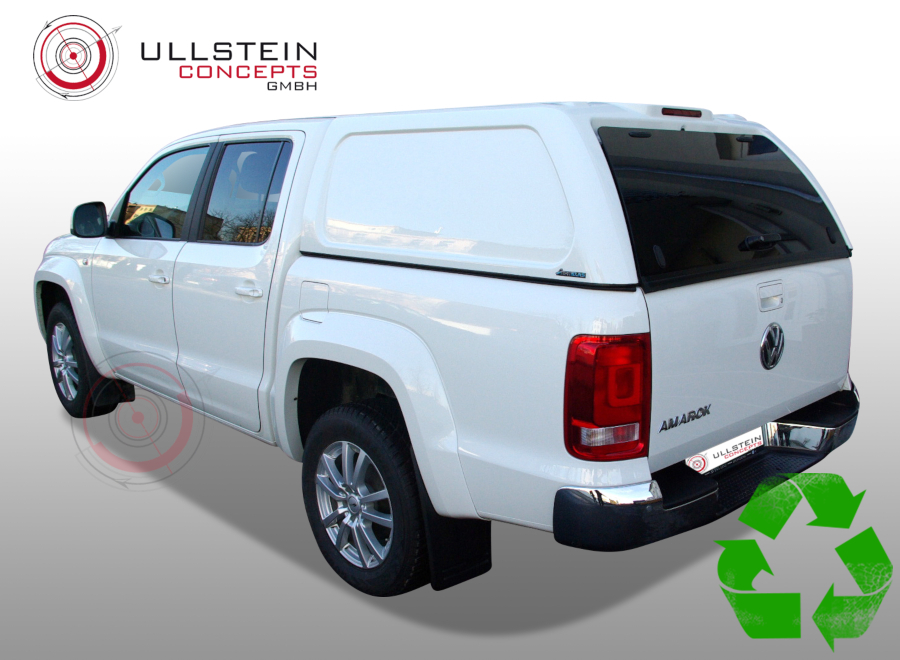 Canopy Green Top Amarok double cab