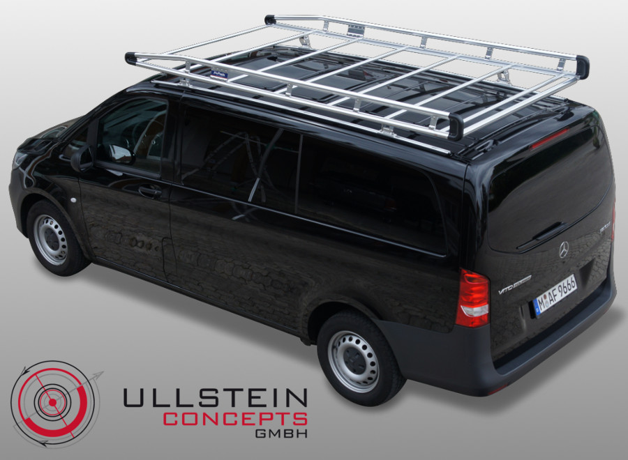 Ladder Roof Rack >> Roof Rack & Roof Bar Mercedes Vito W447 - Ullstein Concepts