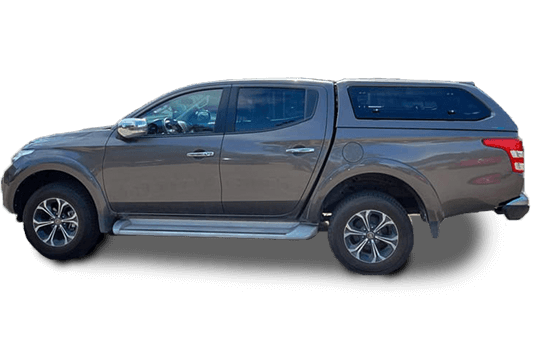Canopy Fiat Fullback Sammitr V4 with pop-out windows