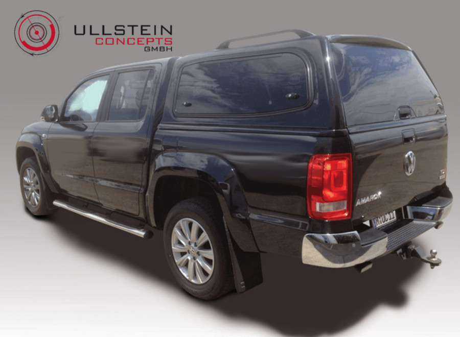 hardtop for the vw amarok made of steel or plastics fibre ullstein concepts. Black Bedroom Furniture Sets. Home Design Ideas
