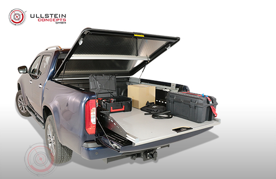 Sliding tray WORKS Mercedes X-Class