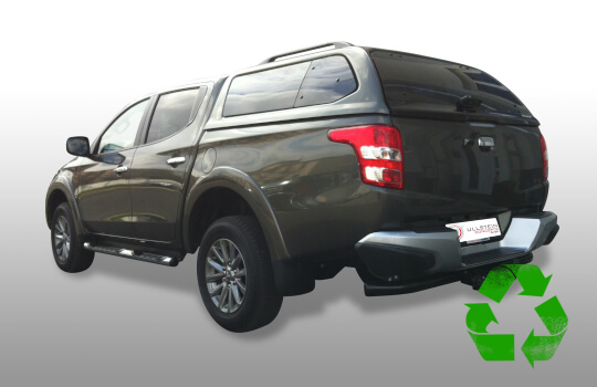 Canopy Green top for Mitsubishi L200