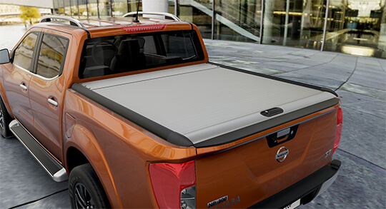 Nissan Navara tonneau cover Mountain-Top Roll