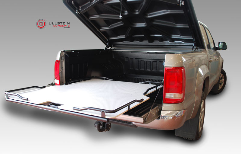 ausziehbare ladewanne schublade volkswagen amarok - ullstein concepts