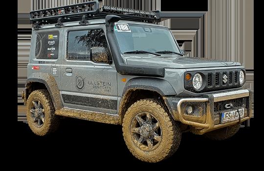 Suzuki Jimny GJ Frontbügel Edelstahl / Schwarz